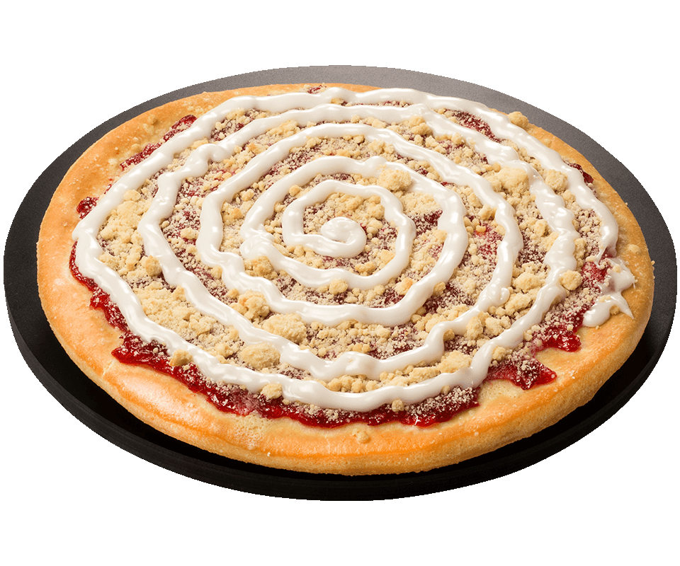Cherry Fruit Dessert Pizza