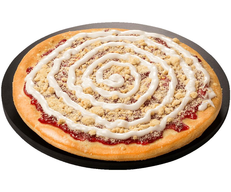 Cherry Fruit Dessert Pizza