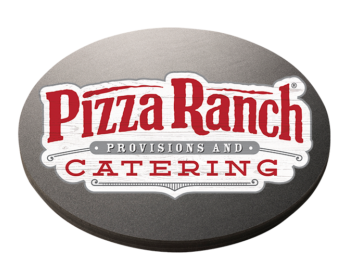Catering Logo Black Disc