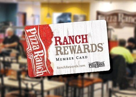 Ranch Rewards card
