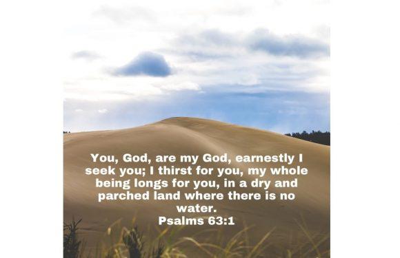 Psalm 63.1