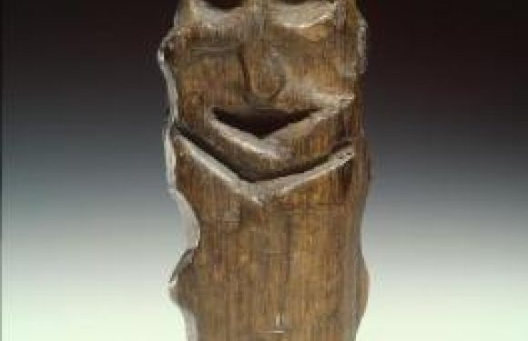 Ancient Wooden Idol