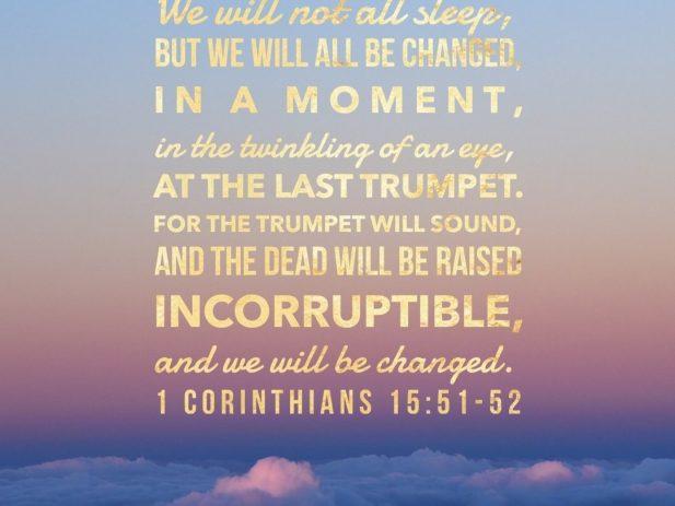 1 Corinthians 15 51 52 s