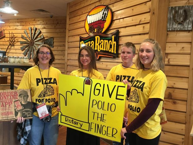 Baraboo Pizza for Polio 1