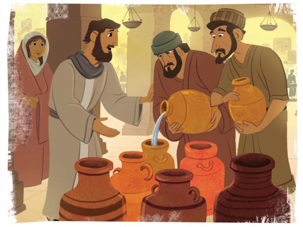 Jesus at Cana