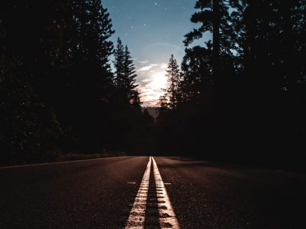 Road-image-with-light-at-the-end