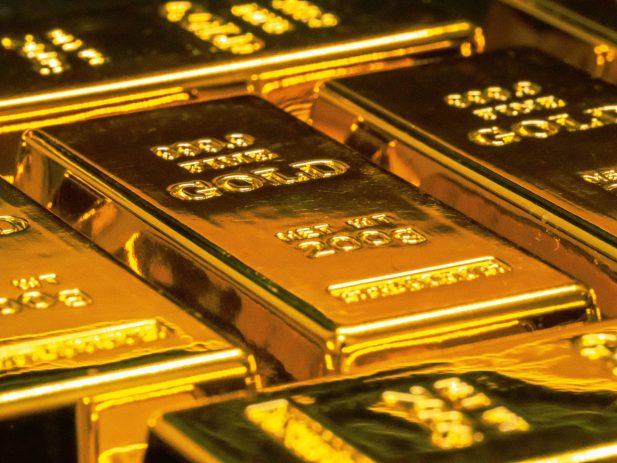 Bars of Fine Gold