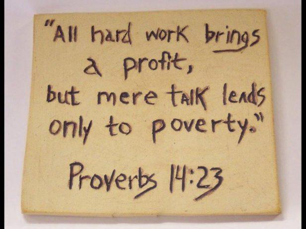 Prov 14 23