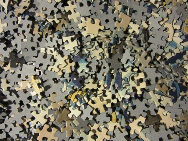Pile of Puzzle Pieces