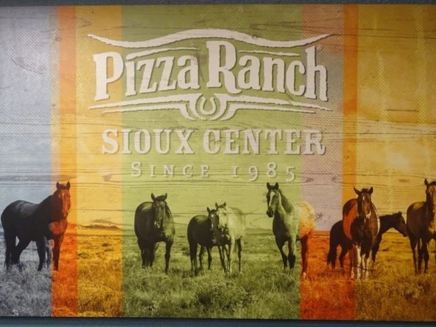 Running horse picture Sioux Center, IA since 1985