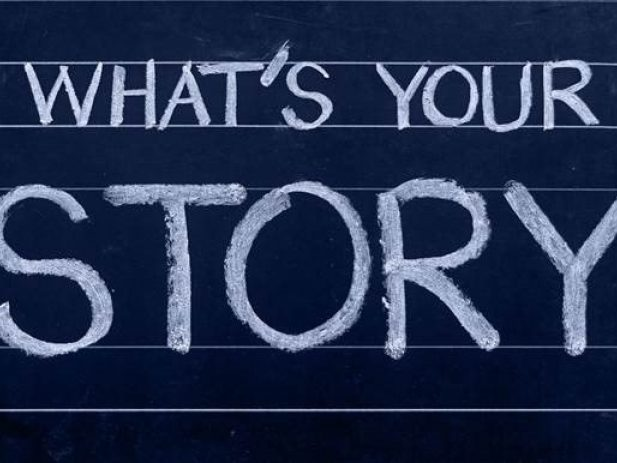 Text: What's your story