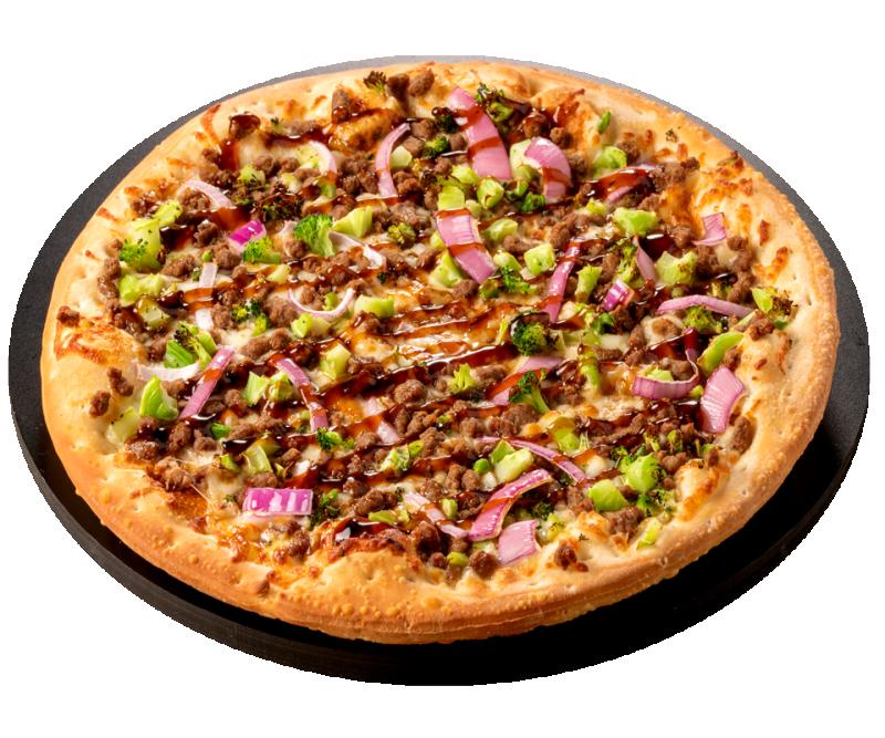 Beef Broccoli pizza2 960x800