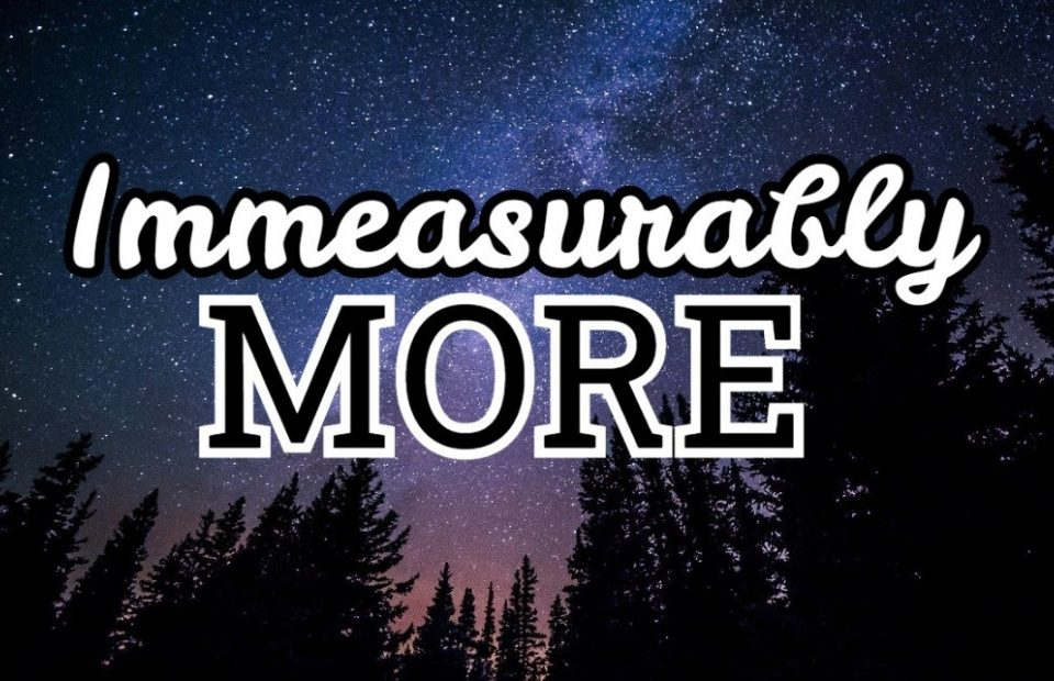 """Galaxy with """"Immeasurably more"""""""