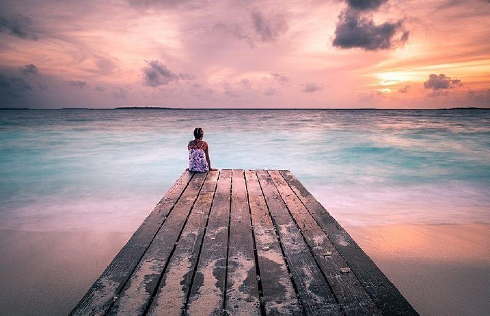 800px Peaceful Sunset Maldives