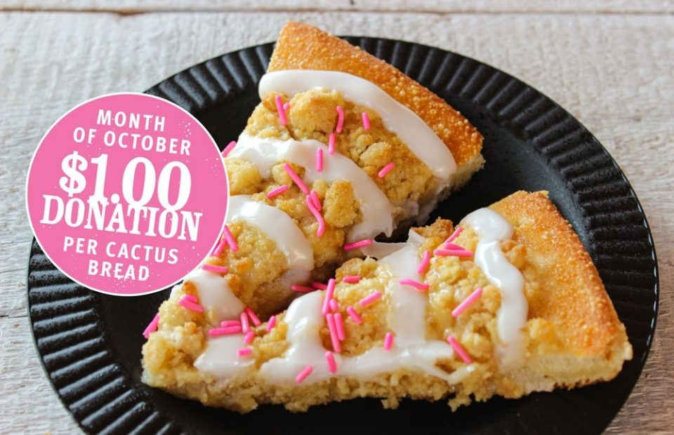 Cactus Bread with Sprinkles 2 slices 1 IMG 2704