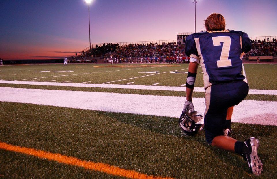 Hischool Football Sunset
