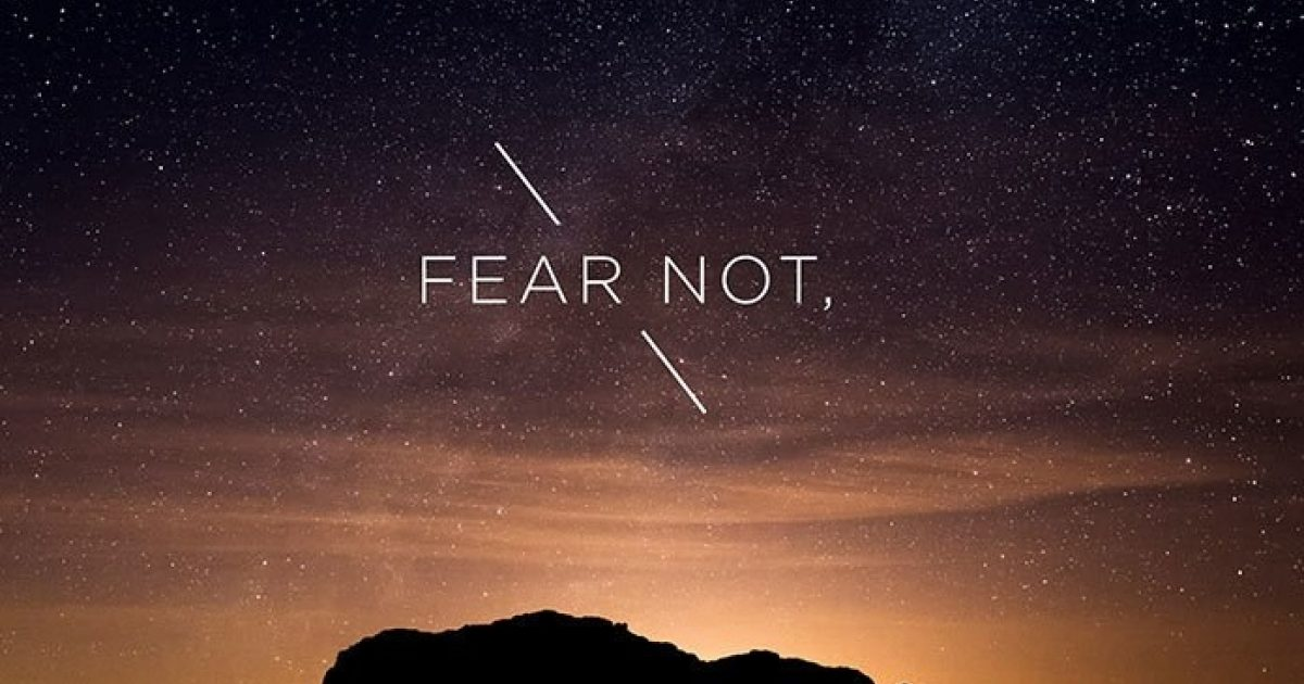 Thursday Thoughts - Fear Not! | Pizza Ranch