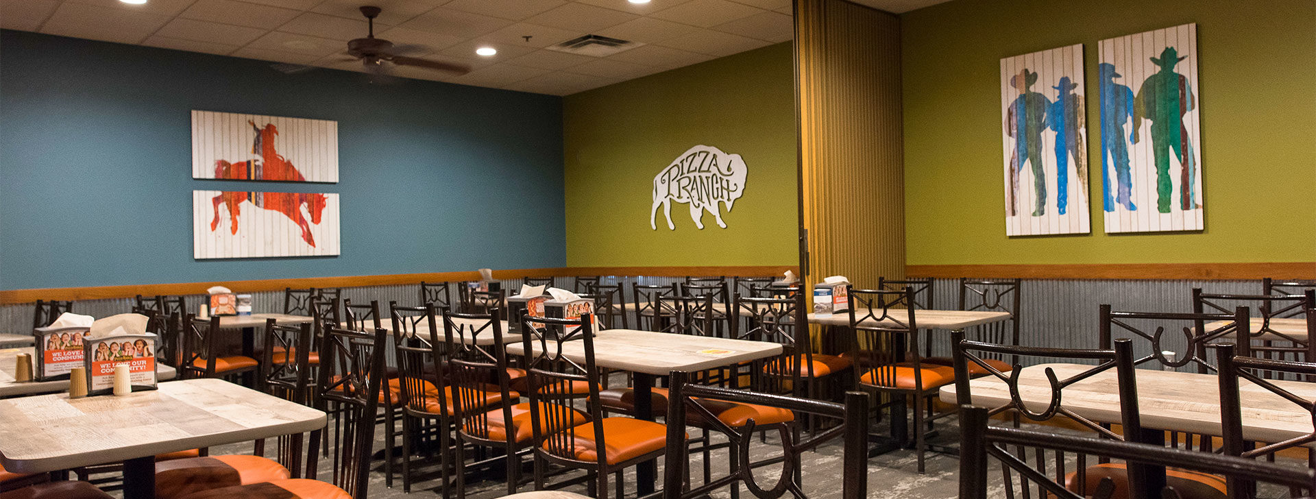 Pizza Ranch Community Rooms