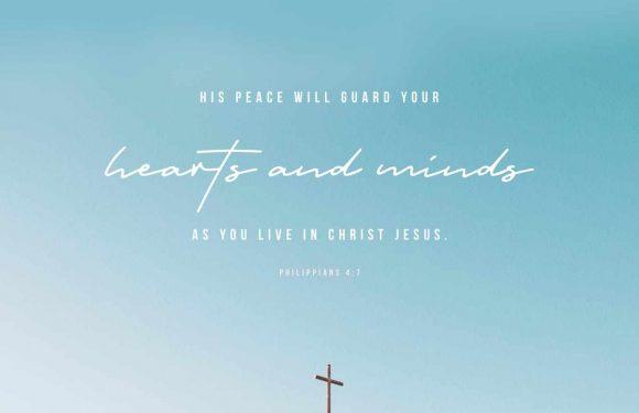 Philippians 4:5-7