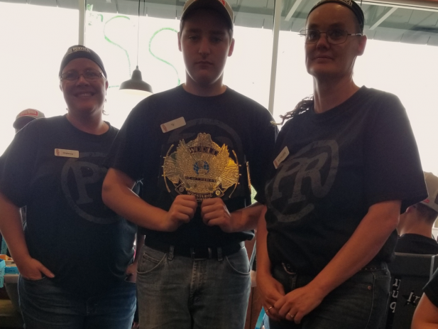 Team Members that shared their raffle tickets
