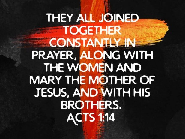 Acts 1:14