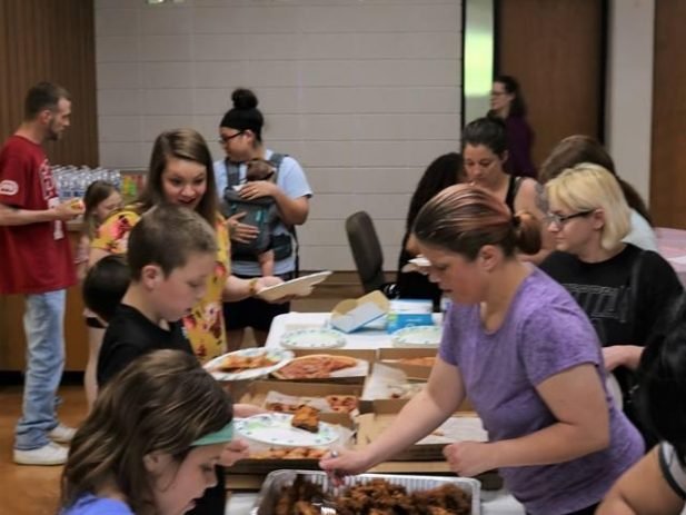 Pizza Party in Liberty, MO