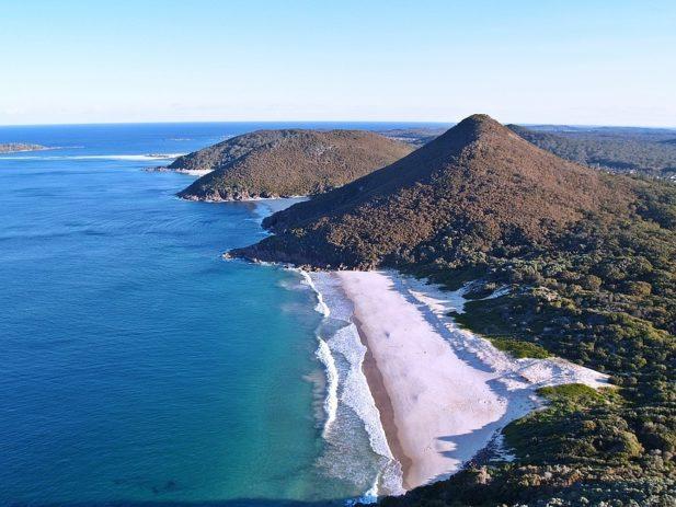 Ocean Mountain coastline