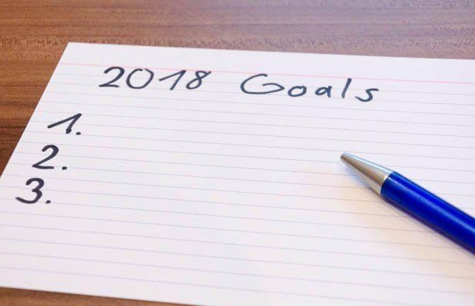 What are your goals for 2018?