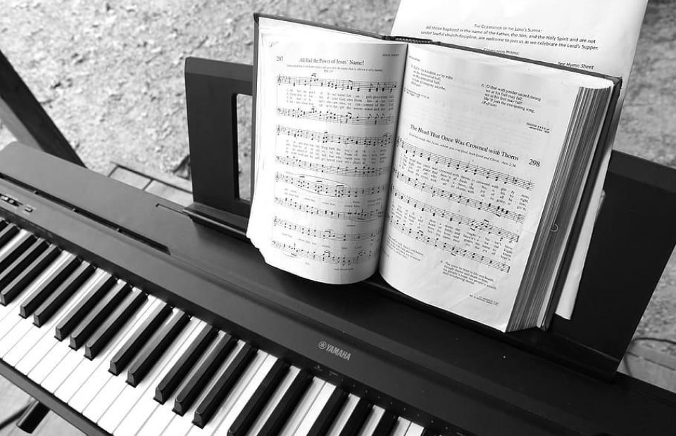 Piano electric piano music keyboard